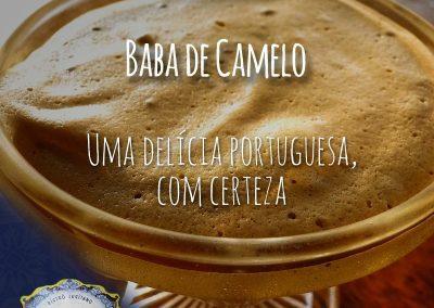 Baba de camelo do Restaurante Português Tonel Bistrô Lusitano