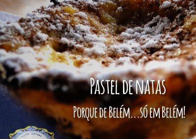Pastel de Natas do Restaurante Português Tonel Bistrô Lusitano
