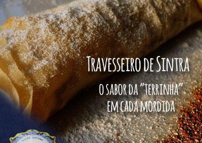 Travesseiro de Sintra do Restaurante Português Tonel Bistrô Lusitano